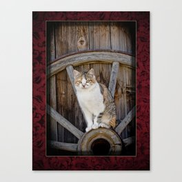 Rustic Ruby Canvas Print