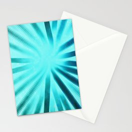 Intersecting-Aqua Stationery Cards