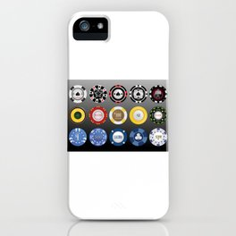 Casino Poker Chips - Nevada Day iPhone Case