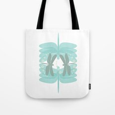 dragonfly pattern 4 Tote Bag