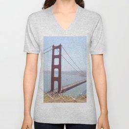 Golden Gate Unisex V-Neck