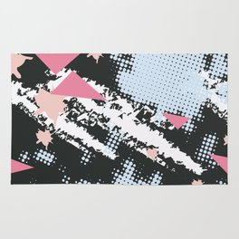 Simple pattern love Rug