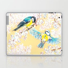 Eurasian tits Laptop & iPad Skin
