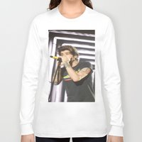 zayn malik Long Sleeve T-shirts featuring Zayn Malik 2 by Halle