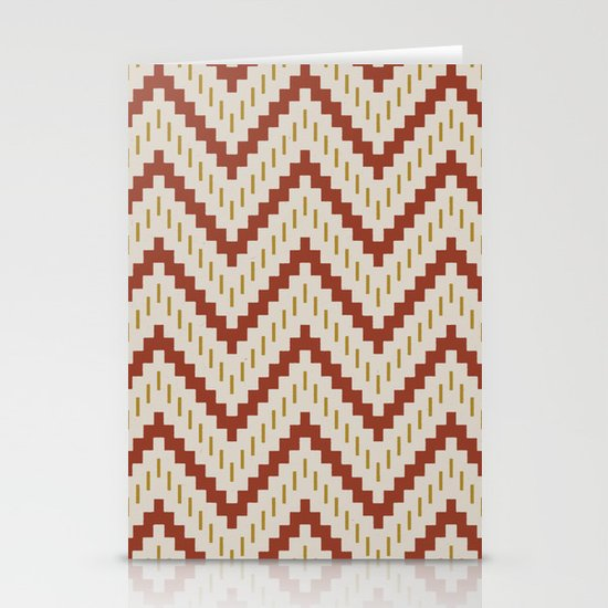 Native-Inspired Pattern  Stationery Cards