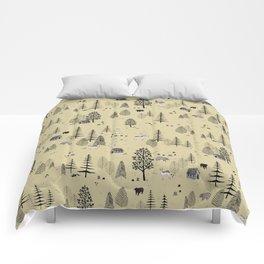 Forrest Pattern Comforters