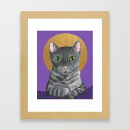 Lord Catpernicus Framed Art Print