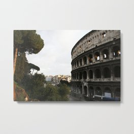 still there Metal Print
