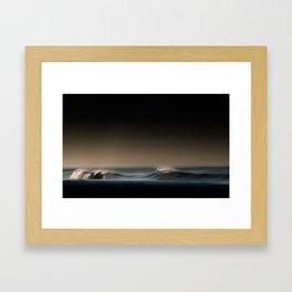 Choas creates beauty Framed Art Print