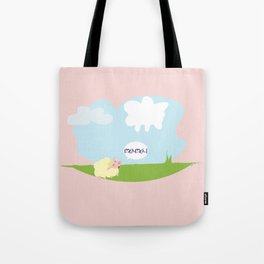 the little sheep Tote Bag