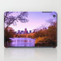 central park iPad Cases featuring Central Park by Anna Andretta