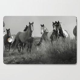 Cariboo Horses Cutting Board