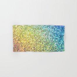 Glitter Rainbow Hand & Bath Towel
