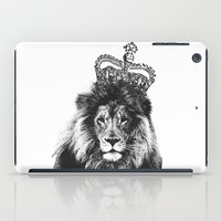 the lion king iPad Cases featuring Lion King by MaNia Creations