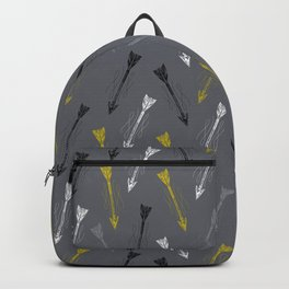 Lone Arrow Grey Backpack