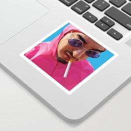 Pink Guy Sticker