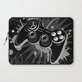 Gamepad Graffiti Grunge Laptop Sleeve