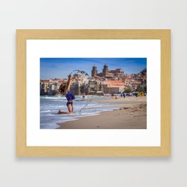 Simple Joys Framed Art Print