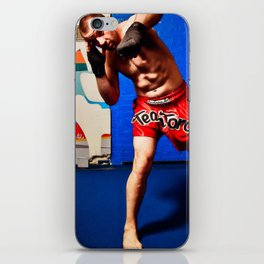 Fight : Punch iPhone Skin