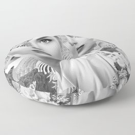 Under The Surface Floor Pillow