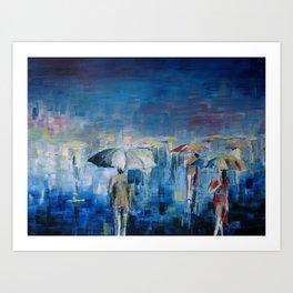 rain or shine Art Print
