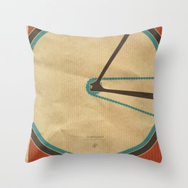 Singlespeed Throw Pillow