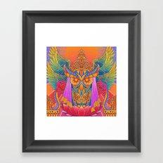 Goddess of the Night Framed Art Print