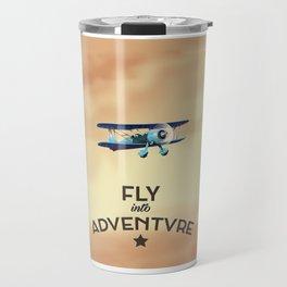 Fly Into Adventure Travel Mug