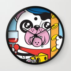 The Frenchie Connection Wall Clock