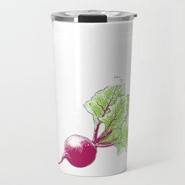 Beat Beet It Turnip Vegetable Vegetarian Gift Travel Mug