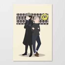 Baker Street Boys Canvas Print