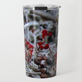 Devil's Matchstick Lichen Travel Mug