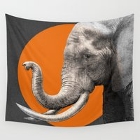 eric fan Wall Tapestries featuring Wild 6 - by Eric Fan and Garima Dhawan by Eric Fan