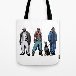 Legendary Rappers Tote Bag