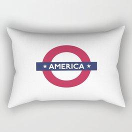 The Transatlantic Line Rectangular Pillow