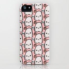 Boo! Cute Ghostie iPhone Case