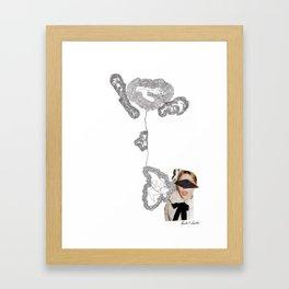 See No Evil Pt I Framed Art Print