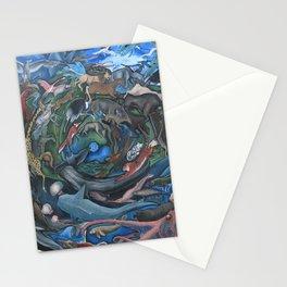Animal Mandala Stationery Cards