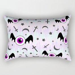 Pastel Melt Winged Eyes Rectangular Pillow
