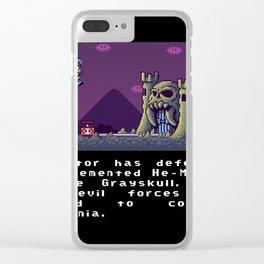 Super Skeletor World Clear iPhone Case