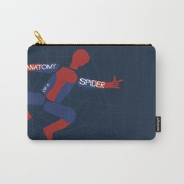 Anatomy of a Spider Carry-All Pouch