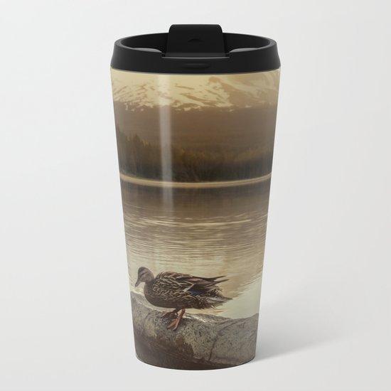 The Oregon Duck Metal Travel Mug