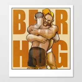 Bear Hug Canvas Print