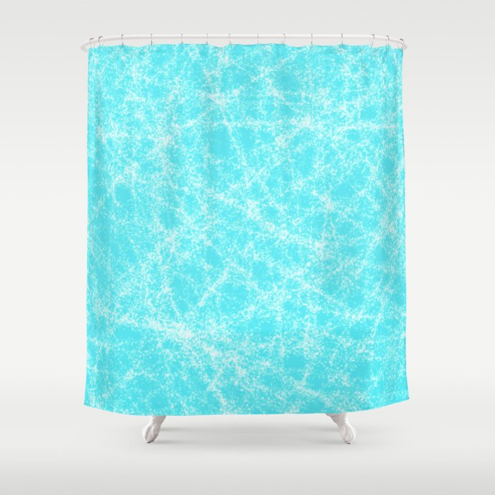 Robin Egg Blue Pattern Shower Curtain By Katherinefriesen