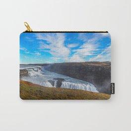 Gulfoss waterfall Carry-All Pouch