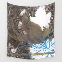 lily Wall Tapestries featuring Lily by Kim Codner Designs