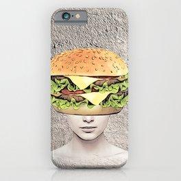 Burger Vision iPhone Case