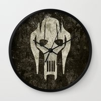 general Wall Clocks featuring General Grievous by Some_Designs
