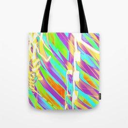 Light Dance Candy Ribs edit1 Tote Bag