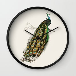 Peacock Royale Wall Clock